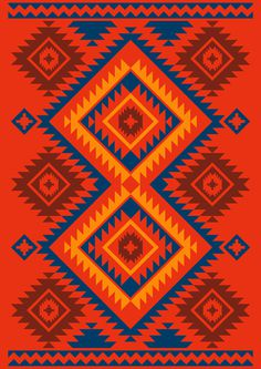 colors #southwestern #pattern #navajo