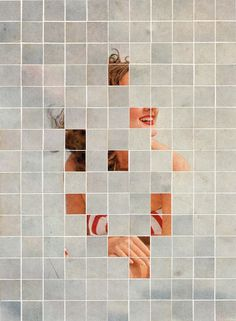 Anthony Gerace #art #portrait #squares #vintage #woman #art #portrait #squares #vintage #woman