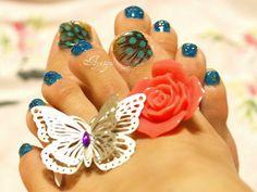 30+ Toe Nail Designs #nail #toe #designs