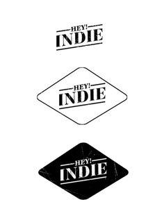 hey indie logo design. #logo