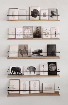 aviarystudio: still house (via apartment 34) #books #library #palette