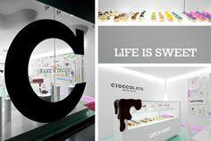CIOCCOLATO BRANDING BY SAVVY STUDIO 11 #chocolate #candy #store #identity