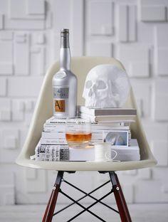 desire to inspire desiretoinspire.net #skull #decoration #eames