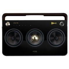 3 Speaker Boombox #tdk #boombox
