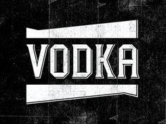 Vodka #identity #vintage #vodka