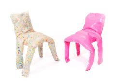 Frumpy Chair by Jamie Wolfond #design #art #furniture #pink #chair #plastic #risd #frumpy