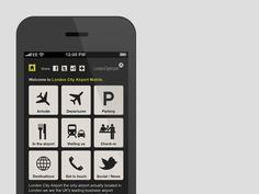 London City Airport. Website. #a #tree #in #london #design #fish #graphic #website #3 #identity #logo #brochure