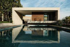 kourosh rafiey sohanak swimming pool spa tehran iran designboom #mid-century
