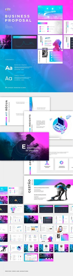 Power Point - Business Proposal on Behance