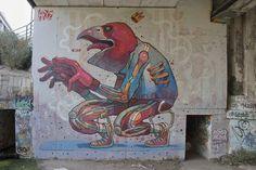 mural, Aryz #aryz #mural