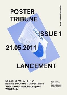 manystuff.org — Graphic Design daily selection #paris #tribune #poster #geneve