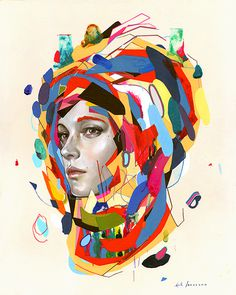 erik jones art #jones #woman #erik #painting #art