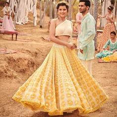Abhinav Mishra Wedding Collections 'MausamMastana' & 'Sunflower' To Evoke Your Inner Bride & Groom!