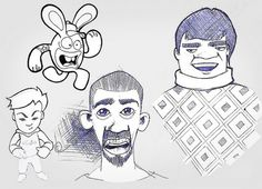 7413612944_8ca8e8bdee_z.jpg (JPEG Image, 640 × 463 pixels) #sketches #illustration #design