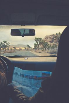 Likes | Tumblr #road #car #vintage #map