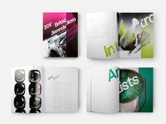 British Glass Biennale 2010 catalogue spreads