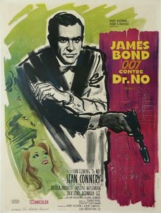 Vintage James Bond, Sci-Fi and Cult Film Posters