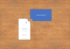 wizytówka Sokół | zoom | digart.pl #business #card #design #rehabilitation #falcon #logo