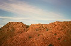 Lauren Max #nature #orange #mountains #landscape