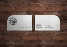Bella Sicilia Identity on the Behance Network #logo #card #identity #business