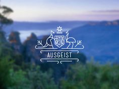 As a creative in Australia it's hard to define the Australian aesthetic separately from larger international influences. A relatively new #logo #australia #crest
