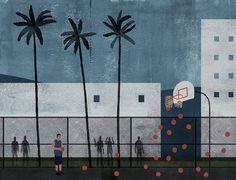 16_850 #illustration #basketball