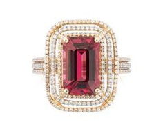 Spinell-Brillant-Ring