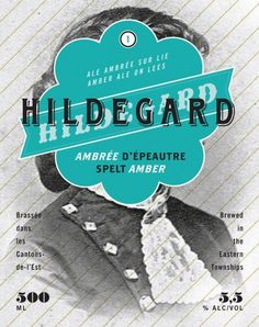 Boquébière Hildegard #beer #bottle #label #packaging