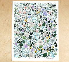anna emilia | Design*Sponge #floral #poster #flowers
