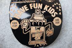 FFFFOUND! #graffiti #skateboard #woodwork