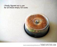 Bagel CD-case #packaging #case #cd