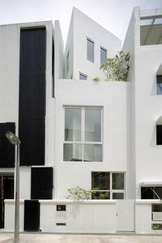 Gallery House by Lekker Design #gallery #white #house #design #building #architecture #lekker