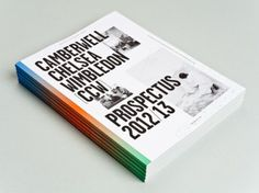 Camberwell Chelsea #edge #print #cover #printing #gradient