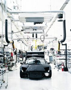 Machines : Adrian Gaut #build #lamborghini #factory #murcielago #production