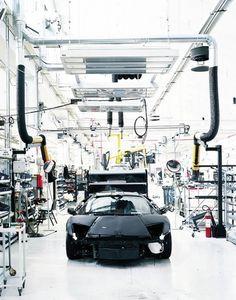 Machines : Adrian Gaut #build #lamborghini #factory #murcielago #production