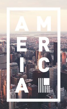 America Posters Series Art and design inspiration from around the world