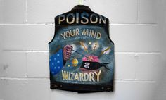Poison Your Mind With Wizardry #jacket #wizardry #poison