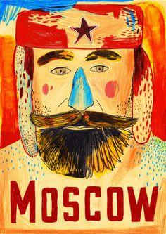 Baubauhaus. #moscow #poster