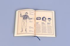 #lexicon #unconscious #grey #book #editorial #screenprint #blue #typography #illustration #infographic #steveurkel #hipster