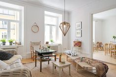 Swedish Apartment Revealing One Cozy Corner After Another #ideas #apartment #design #decor