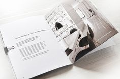 Very Intresting Design of Architect\\\'s Portfolio Book by Alina Rybacka-Gruszczynska