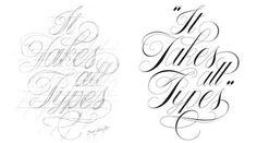 Keith Morris #lettering #script