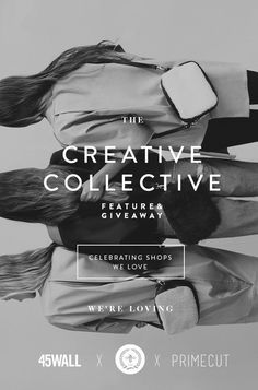 THE CREATIVE COLLECTIVE #fashion #inspiration #typography
