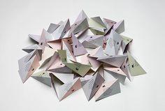Moodus by Ritator #graphic design #fold #business card