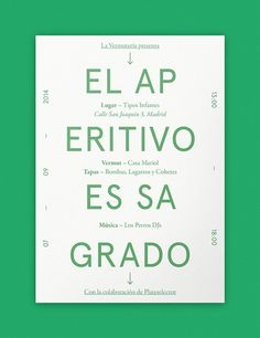 La Vermutería — Episode I on Behance #naranjo—etxeberria #diego #spain #vermut #pop #color #vermouth #tipography #etxeberria #paper #vermu #naranjo #la #up #poster #vermuteria #miguel #colour #naranjoetxeberria #green