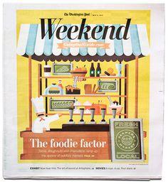 Washington Post Weekend - Matt Chase | Design, Illustration