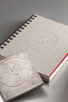 Agency Branding on Behance #embossing #branding #packaging #self #identity #ci #promo #logo
