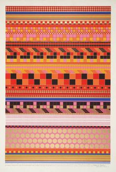 #pattern #geometry #pop #color #1960s #poster #art