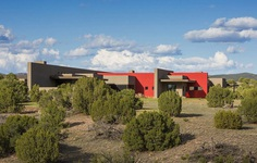 Galisteo House in New Mexico by Archaeo Architects 1