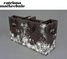 Catriona Mackechnie | Bibliothèque Design #identity #bags #biblioteque